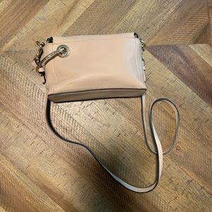 Vince Camuto Small Beige Crossbody